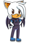 Chibi Beck the bat by Annithecat