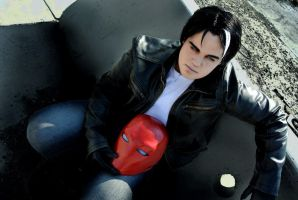 Jason Todd: Park Row by kay-sama