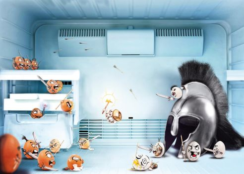 Attack the Fridge by fERs