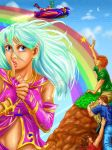 Rainbow Kisses-- Orieal and Co. by genaminna