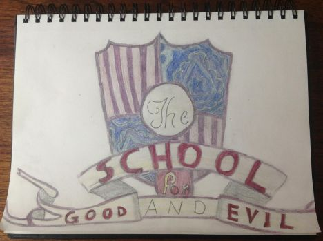 School For Good And Evil crest by Demon-catgirl
