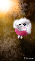 Janet the Poodle: I Love Snow by Hvan