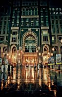 Abraj Albait Entrance by M-e-e-s-h-o