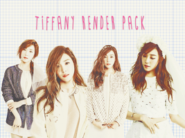 Pack PNG #10 Tiffany (Girls Generation) by XieraaaPark