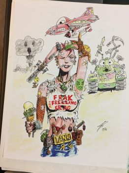 Tank Girl Shirt Update by coyote117