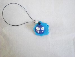 Mini Gastly charm by zen1990