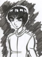 Ominous  ROCK LEE by moonneko2002