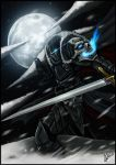 Legends of Daear: The Black Knight by RedSkittlez-DA