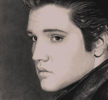 Elvis Presley by georginaflood