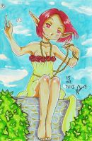 Life of Zinnia by LordNobleheart