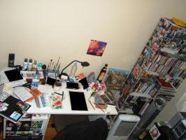 "My ""Work Station"" by Simanion"