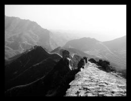 Great Wall of China III by mercyop