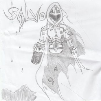 Salvo (Fan Art For WynautWarrior) by Redsundark