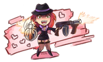 Commission: Chibi Miss Fortune by OlchaS