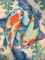 """""""ikan koi"""" by PaMtRIck"""