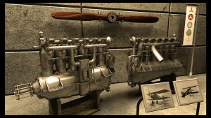 Mercedes D.III engine by PhilJacques