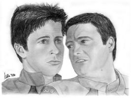John and Rodney from SGA by Mella68
