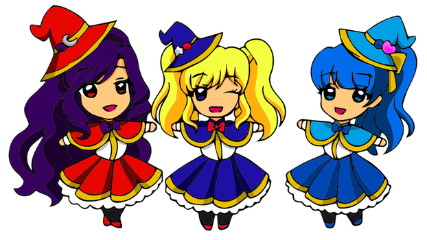 Magical Girls - Sailor Moon Version by vivian274