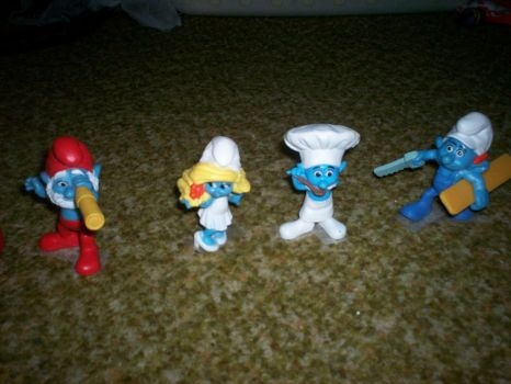 SMURFS PICTURE 2 !!! by carl-88