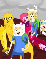 Rescued by Finn and Jake by Freyamustdie