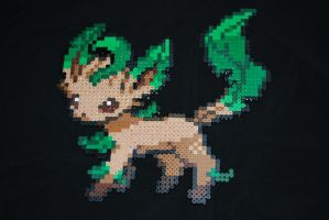 Leafeon Bead Sprite by Neo-Shadow-Bat