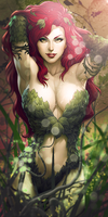 Poison ivy by Meliaduel
