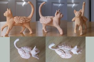 Catwings- Unpainted by jackal-god
