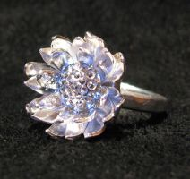 Sterling Silver Lotus Ring by Sothoth