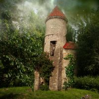 Fairy home by cindysart-stock by CindysArt-Stock