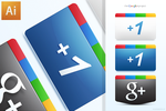 Google Plus + Icons Free AI by jimmybjorkman