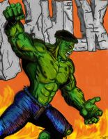 THE HULK 2 by Lpsalsaman