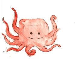 Blocktopus by PlutoHasCows