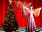 Christmas Tree Angel Wish by PridesCrossing
