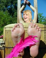 Request: Kathryn Morris Tickled Fake by MikeTickler