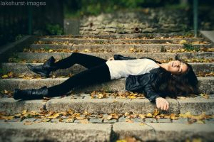 Beauty fainted on the steps by lakehurst-images