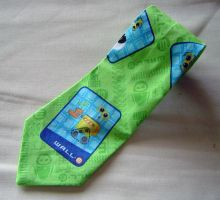 WALL-E Necktie by Isilian