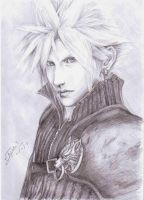 FFVII AC - Cloud Strife by kuroSPITE