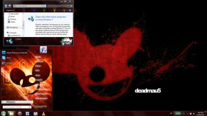 Deadmau5 windows 7 theme by Matniky
