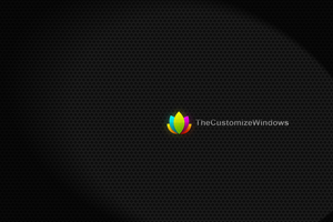 The Customize Windows Branded Wallpaper by AbhishekGhosh