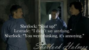 Sherlock - Thinking by Annabelle-H