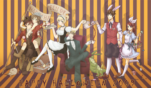 REFR+SH: HAPPY HALLOWEEN 2009 by aeriim