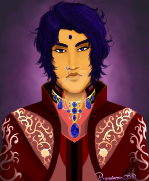 Portrait of a Prince by pizza-tron-2010