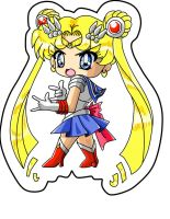 Sailor Moon Chibi Colored by Verliet427