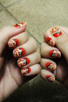 Chiclets Mini - Nail Art by natsy-alencar