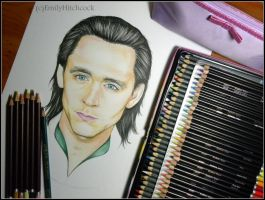 Hiddles Loki WIP2 by EmilyHitchcock