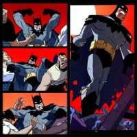 Batman comic collage by qBATGIRLq