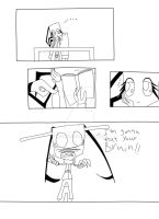 Lilje and the zombie page1 by Herure