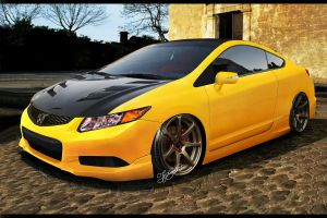 Honda civic by FabricioProDesign