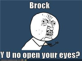 Y U no Brock? by merrywendsday