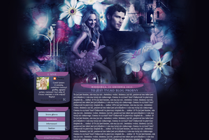 Klaroline blue and pink by Chedey111